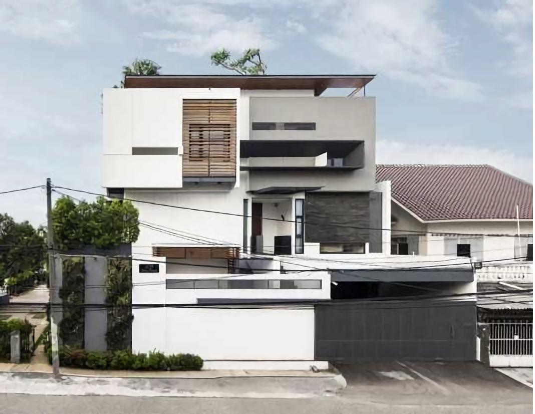 Inspirasi Desain Arsitektur Rumah Tropis Minimalis karya
