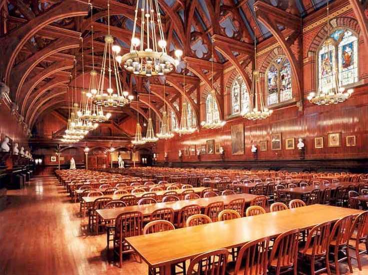 Kantin Harvard University (Sumber: pinterest.com)
