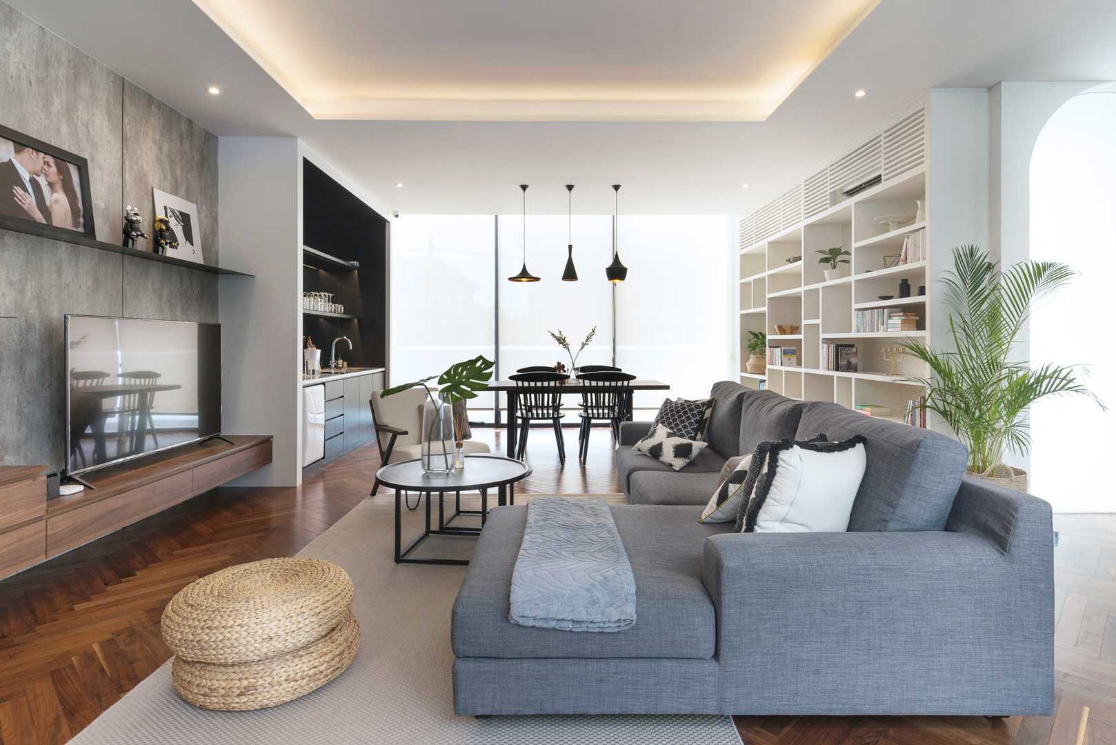 Haliman#02: Desain Interior Rumah Kekinian Kaum Urban yang Stylish | Foto artikel Arsitag