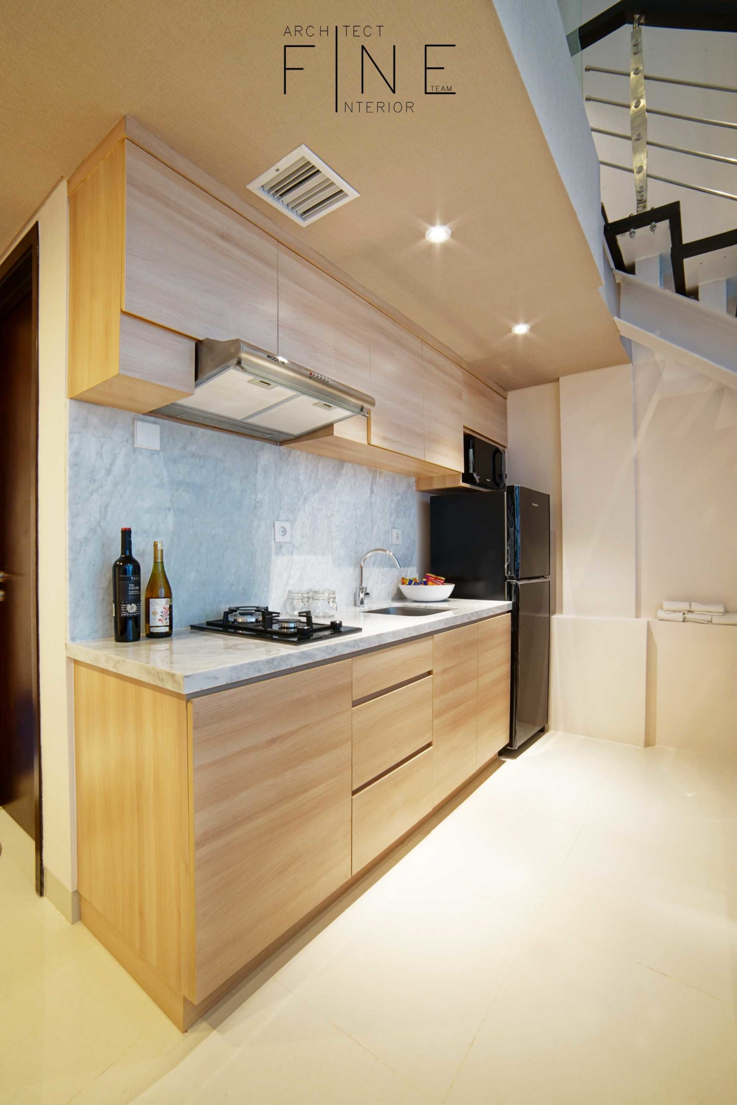 Dapur Brooklyn Soho Apartment (Sumber: arsitag.com)