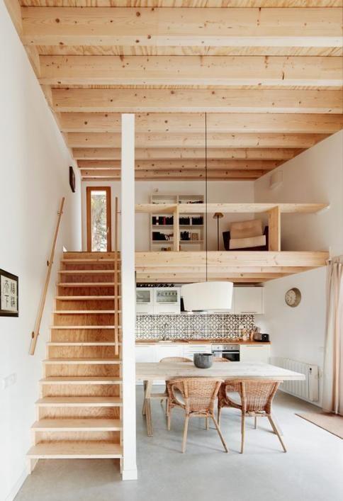 Desain rumah bergaya compact umumnya menerapkan sesuatu yang simpel, praktis, dan sederhana sehingga membuat proses merawat dan menjaga kebersihan rumah tak terlampau ribet. Hal ini juga karena mengingat umumnya penghuni rumah bergaya compact adalah orang-orang yang menyukai sesuatu yang praktis dan tidak rumit.