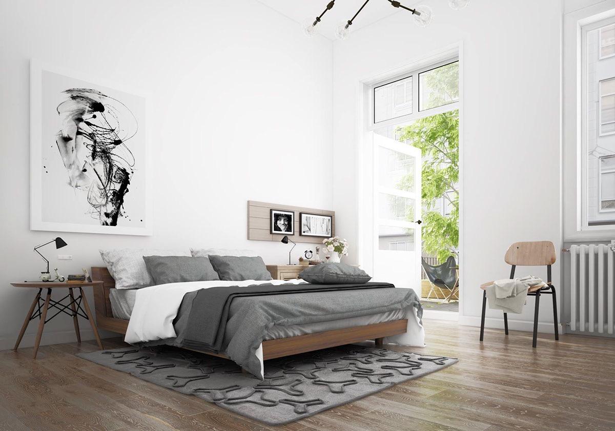 Desain Kamar Tidur Skandinavian untuk Anda yang Berjiwa Minimalis | Foto artikel Arsitag
