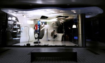 Armetide Flagship Store Taiwan karya CROX (Sumber: dezeen.com)