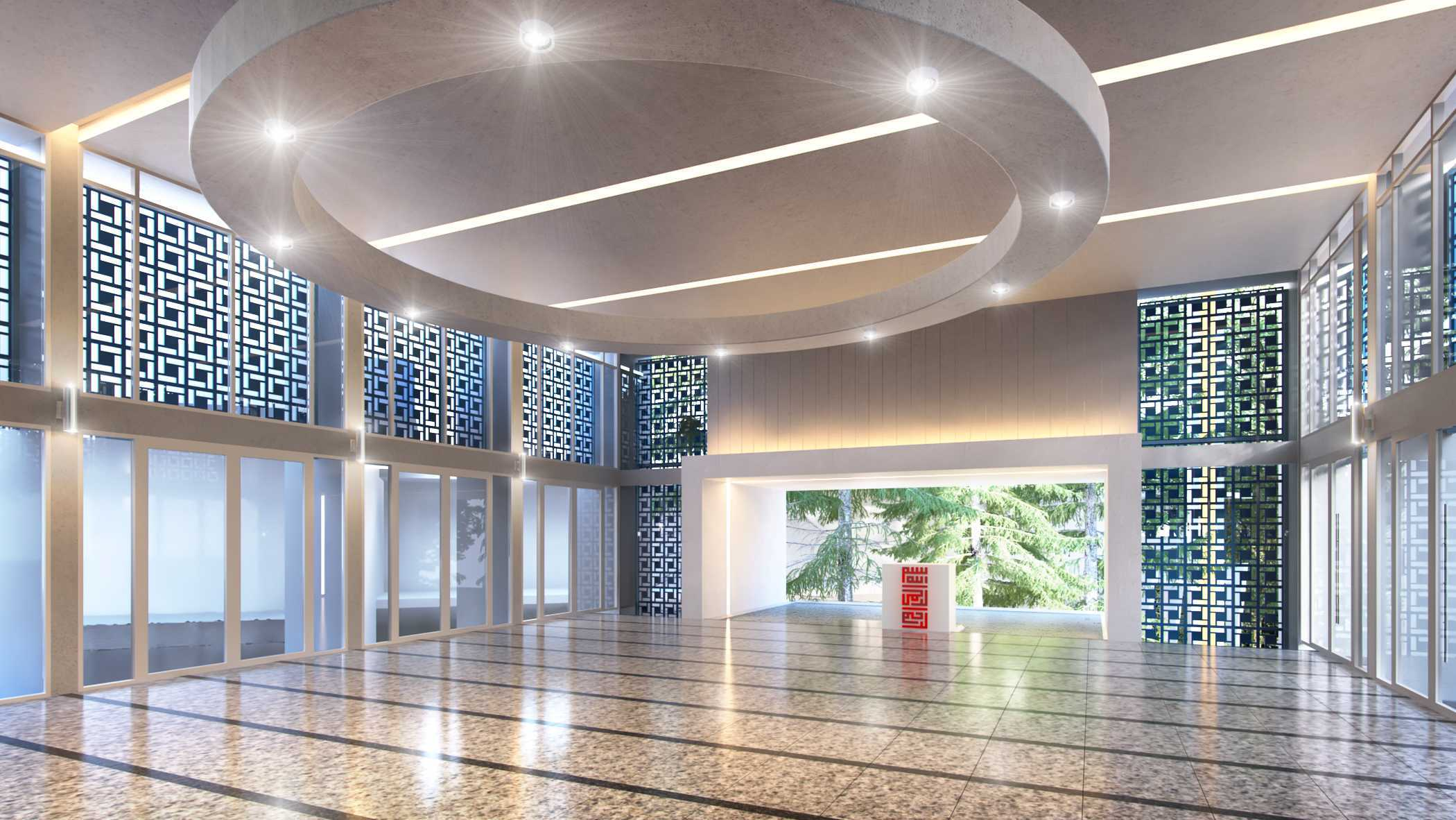 Sebagai bangunan yang menjadi fasilitas dalam komplek PDAM Tirtawening Bandung, Maaimmaskuub Mosque ini dibangun berlantai dua untuk mengakomodir lebih banyak jamaah. Bekerja sama dengan arsitek Angky Abiyasa, sang desainer mengembangkan bangunan dengan konsep air menciptakan desain masjid minimalis namun elegan.