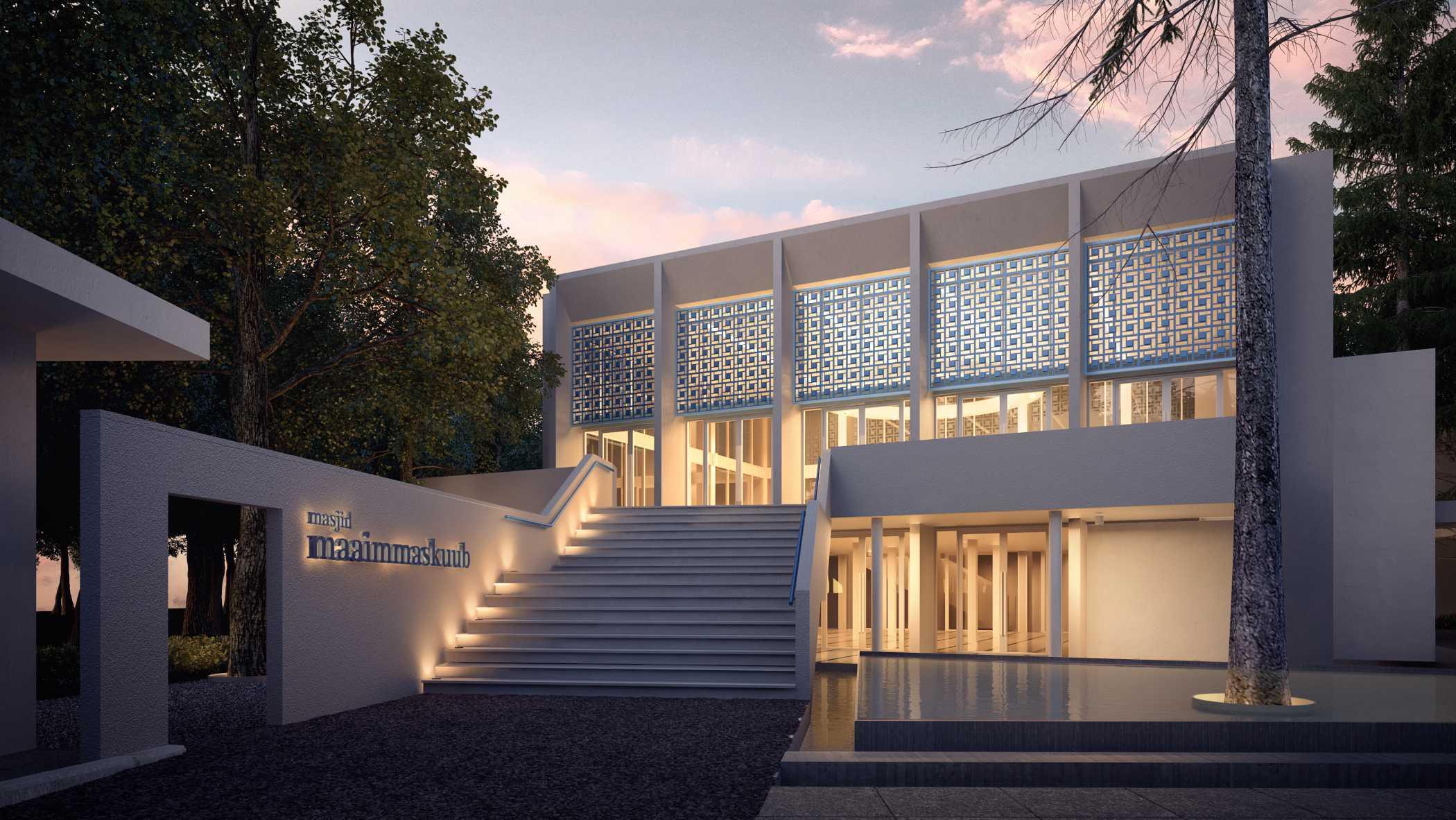 8 Pesona Desain Arsitektur Masjid yang Unik dan Kreatif | Foto artikel Arsitag