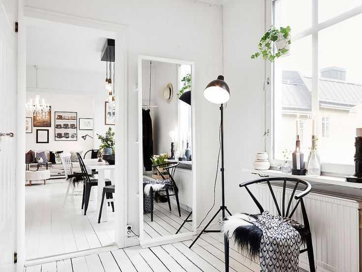 Warna cerah dan jendela terbuka khas gaya Scandinavian (Sumber: pinterest.com)