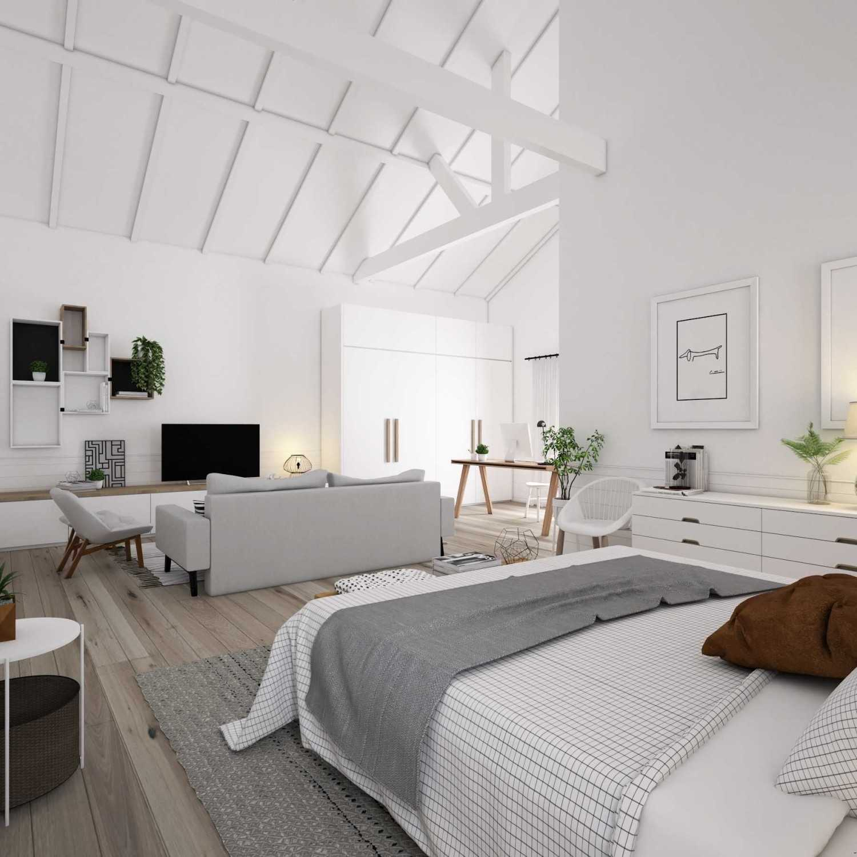 Lantai kayu. Ciri khas dari gaya Scandinavia adalah penggunaan lantai kayu. Kayu yang digunakan untuk lantai cenderung memiliki warna pucat atau gelap. Sebaiknya gunakan lantai kayu untuk seluruh ruangan rumah kecuali pada kamar mandi atau area basah lainnya.