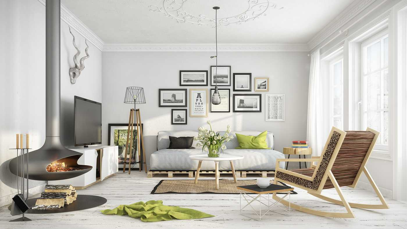 Desain Gaya Scandinavia - ARSITAG