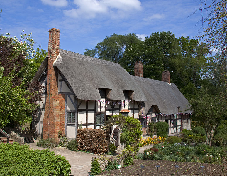 Anne Hathaway's Cottage di Warwickshire (Sumber: en.wikipedia.org)