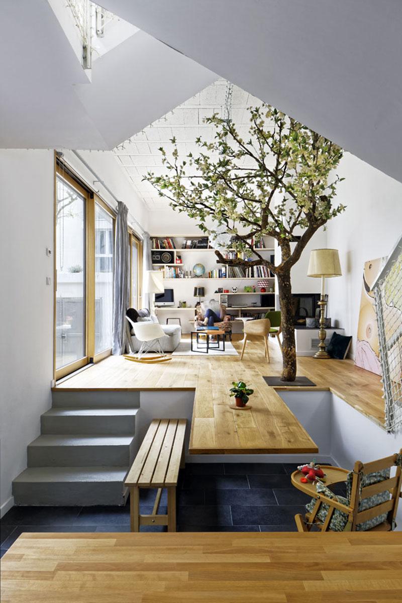 Kantilever memberikan opsi desain yang tidak terbatas dan belum pernah terpikirkan sebelumnya.Kitchen island (meja dapur)