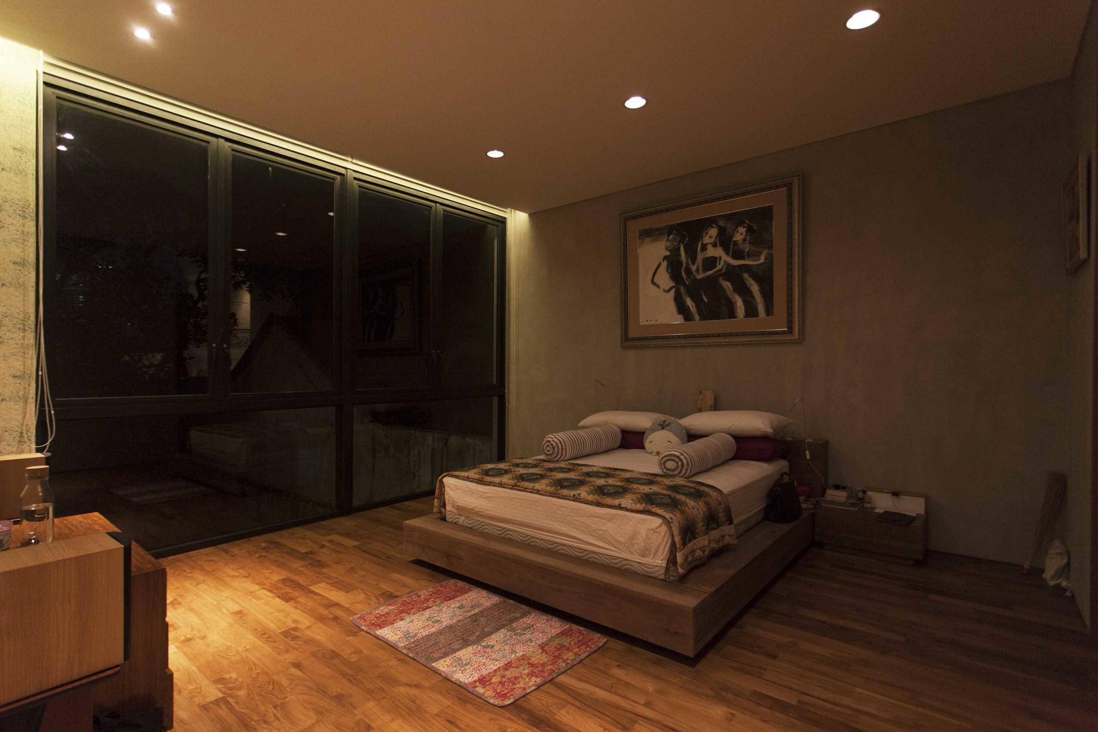 Kamar tidur industrial minimalis (Sumber: arsitag.com)