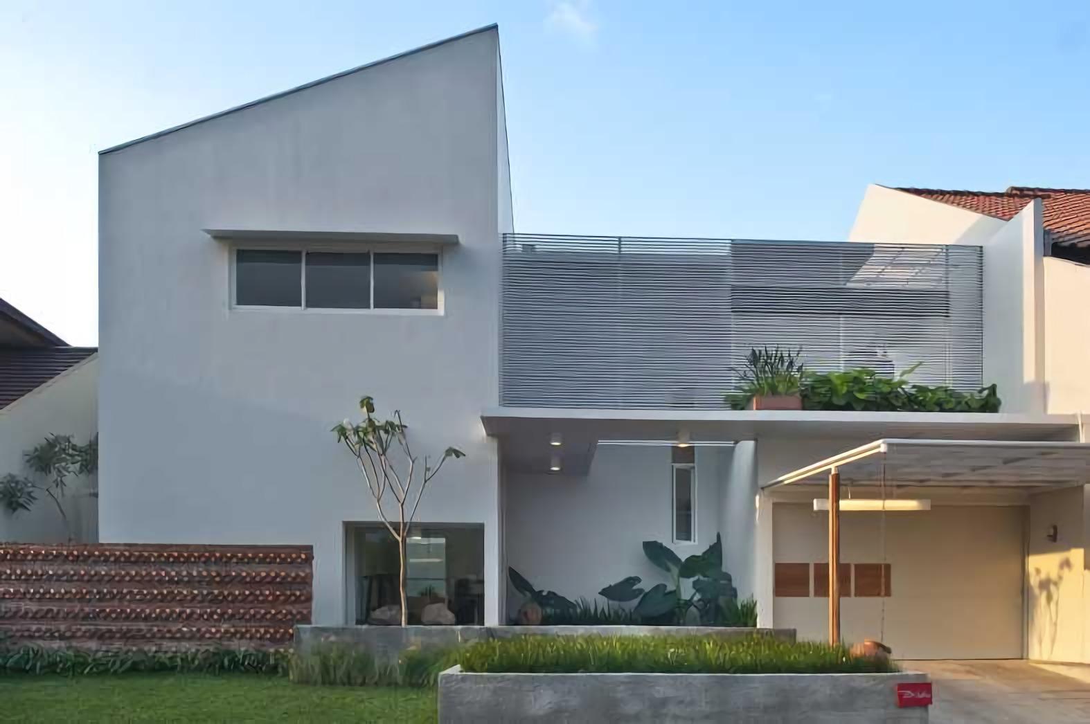 1030+ Gambar Rumah Tampak Depan Tanpa Atap Terbaik