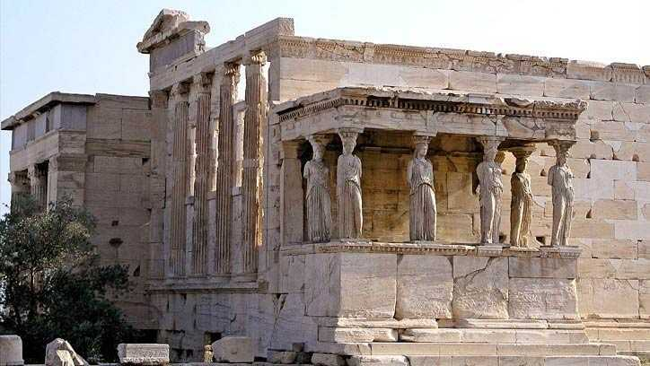 Erechtheion di Athena (Sumber: autoclubrental.gr)