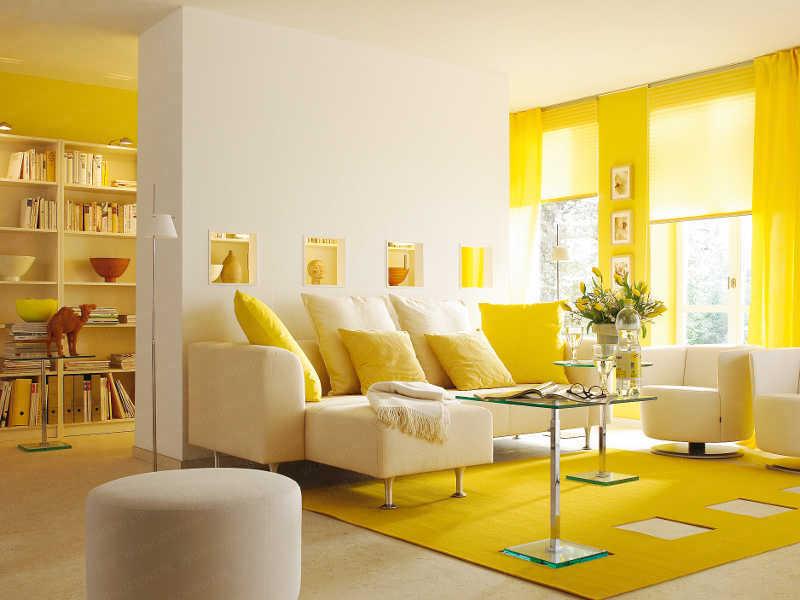 124+ Contoh Desain Rumah Warna Kuning Kekinian
