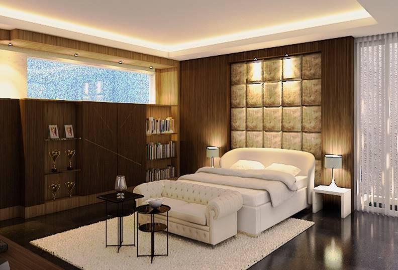 Permadani dalam desain interior kamar tidur karya BK Architect (Sumber: arsitag.com)
