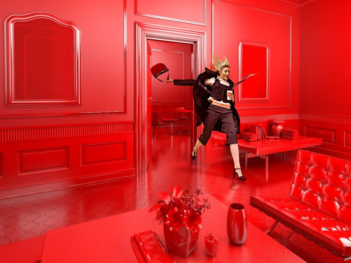 Sentuhan Warna Merah untuk Menghidupkan Suasana Rumah Sederhana Anda | Foto artikel Arsitag