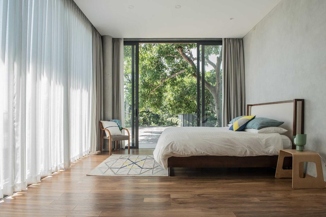 Desain interior kamar tidur House 1 di Semarang karya Tamara Wibowo (Sumber: arsitag.com)