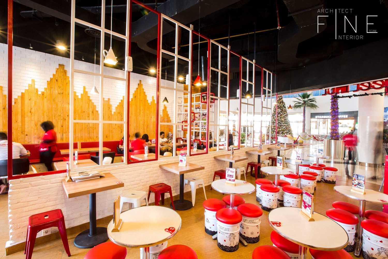 Sweet Hut di Mall Cipinang Indah karya Fine Design Project (sumber : arsitag.com)