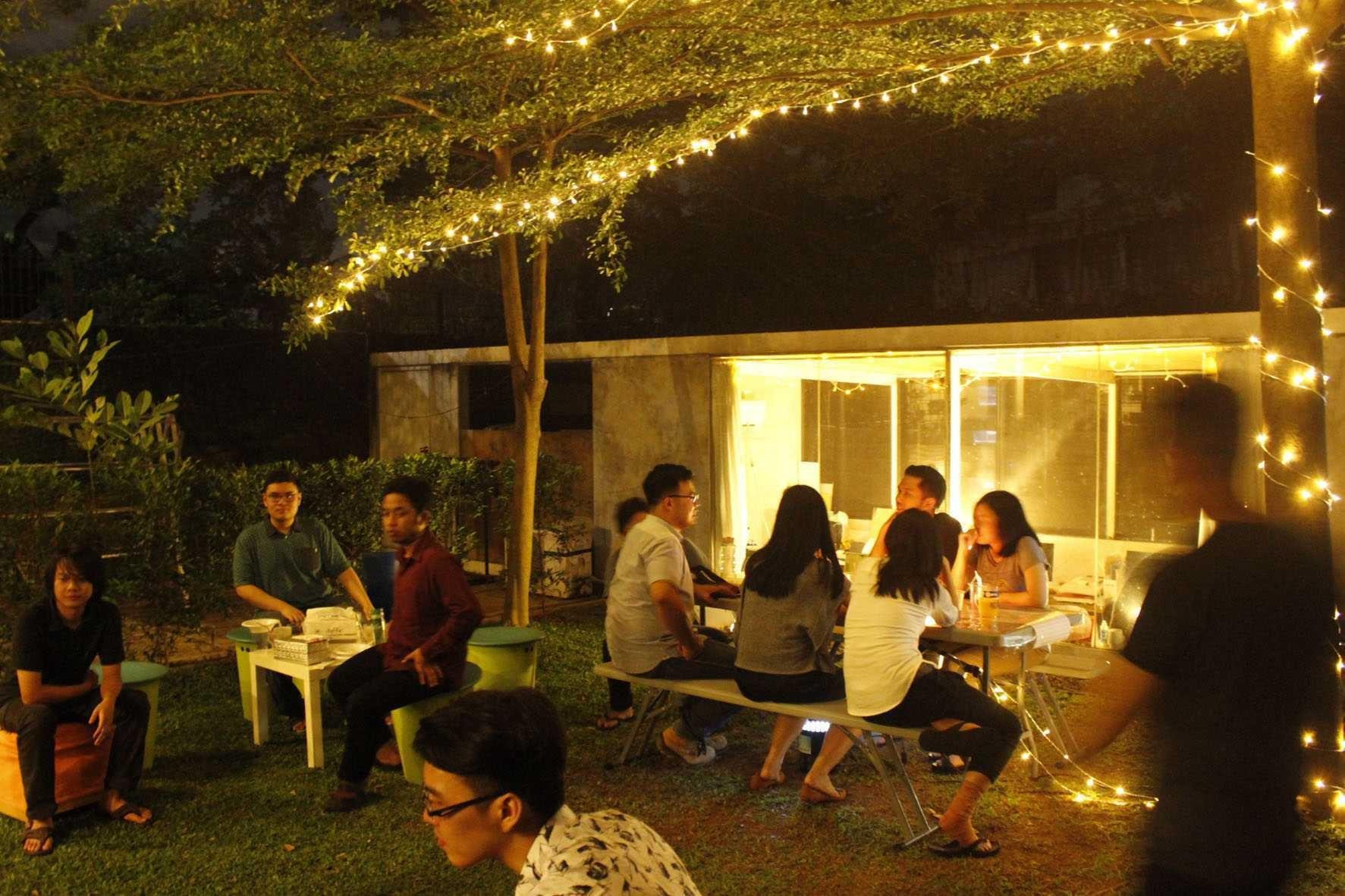 7 Ide Desain Outdoor Party Yang Seru Dan Menyenangkan Di Rumah Anda | Foto artikel Arsitag