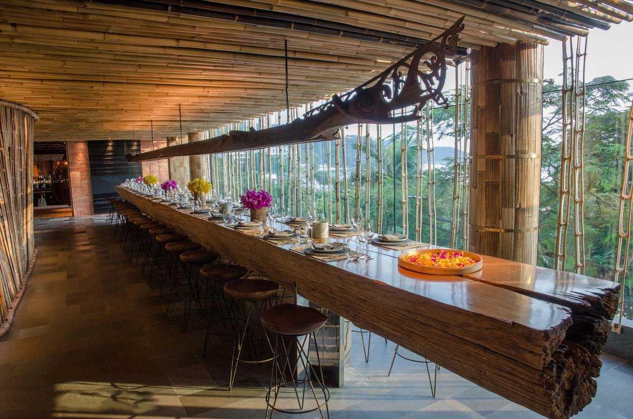 TRi: Restoran yang Membawa Nuansa Bali ke Kancah Internasional | Foto artikel Arsitag