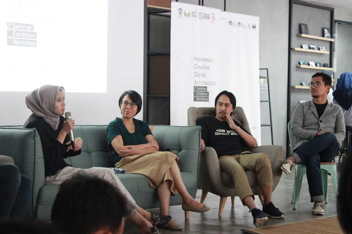 Siaran Pers Acara Indonesia Creative Digital Architecture | Foto artikel Arsitag