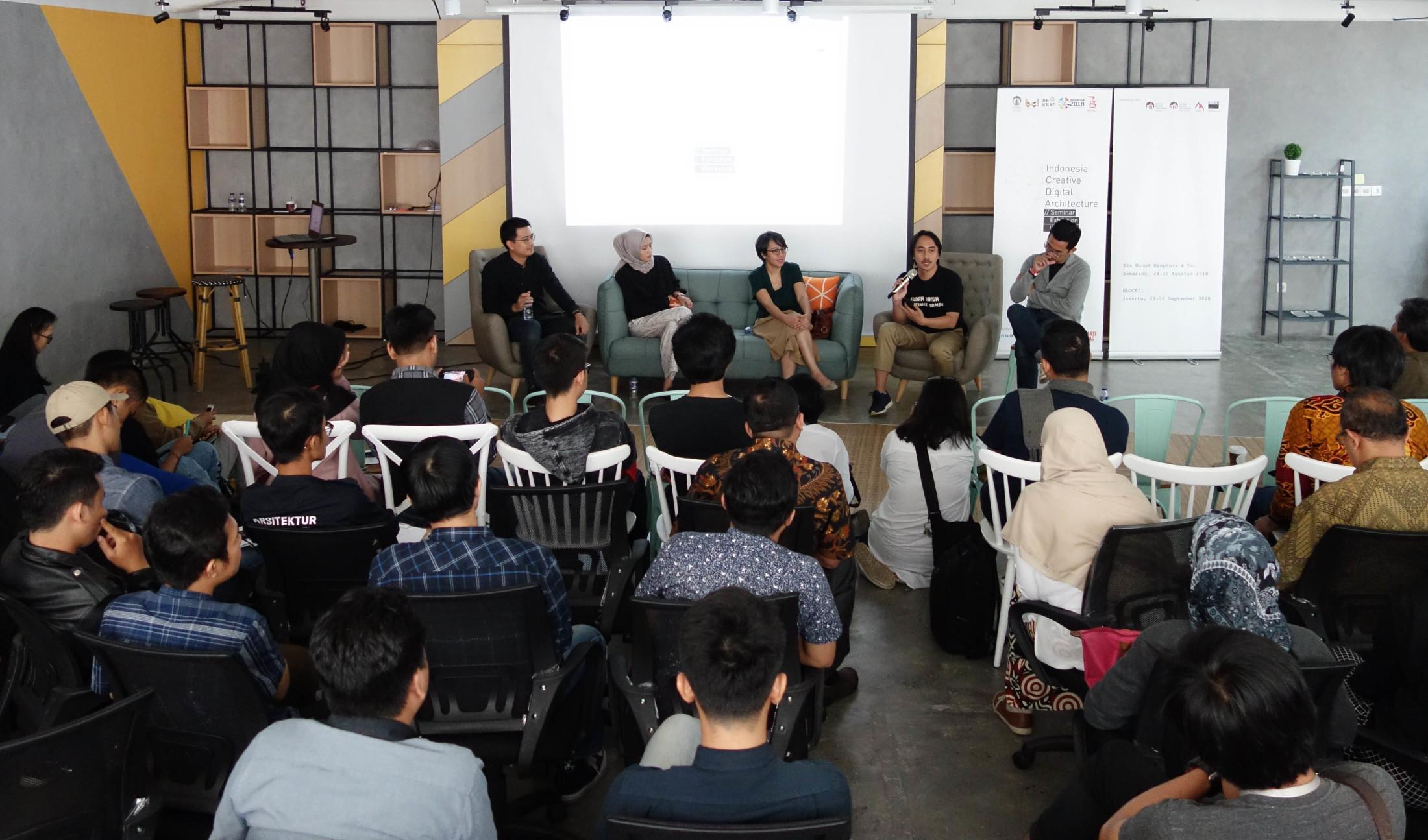 Kegiatan hari pertama ICDA (Sumber: Universitas Indonesia)