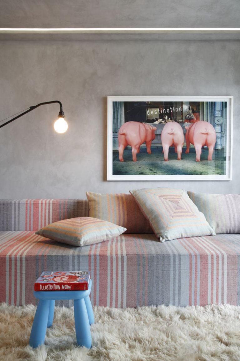 Masukkan Warna Pastel Lewat Hiasan Dinding