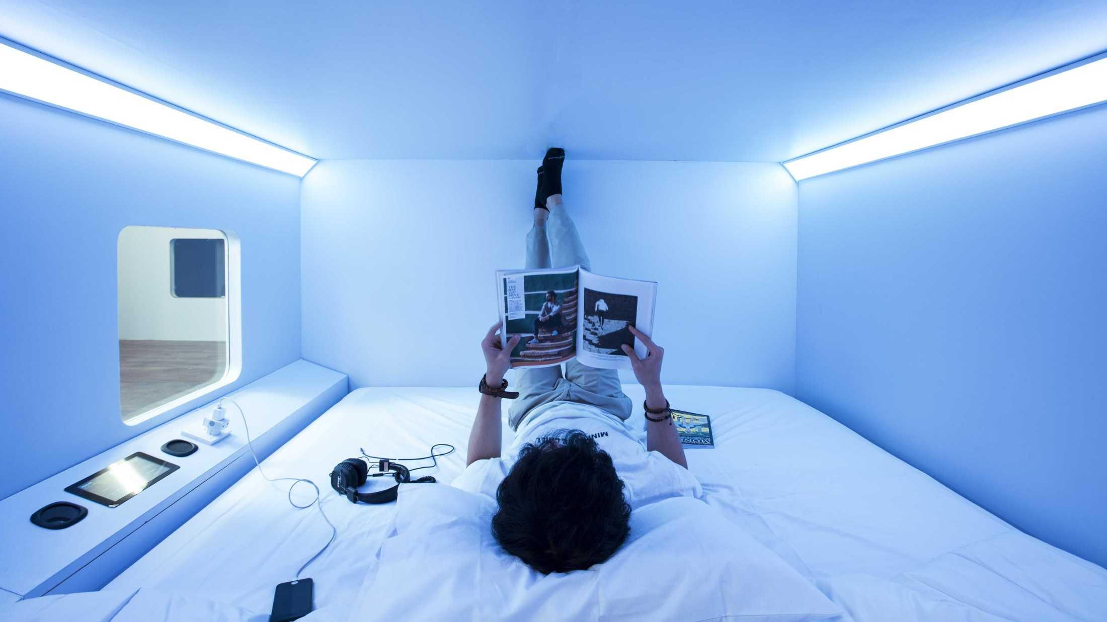 Smart Hotel dengan teknologi terkini (Sumber: arsitag.com)