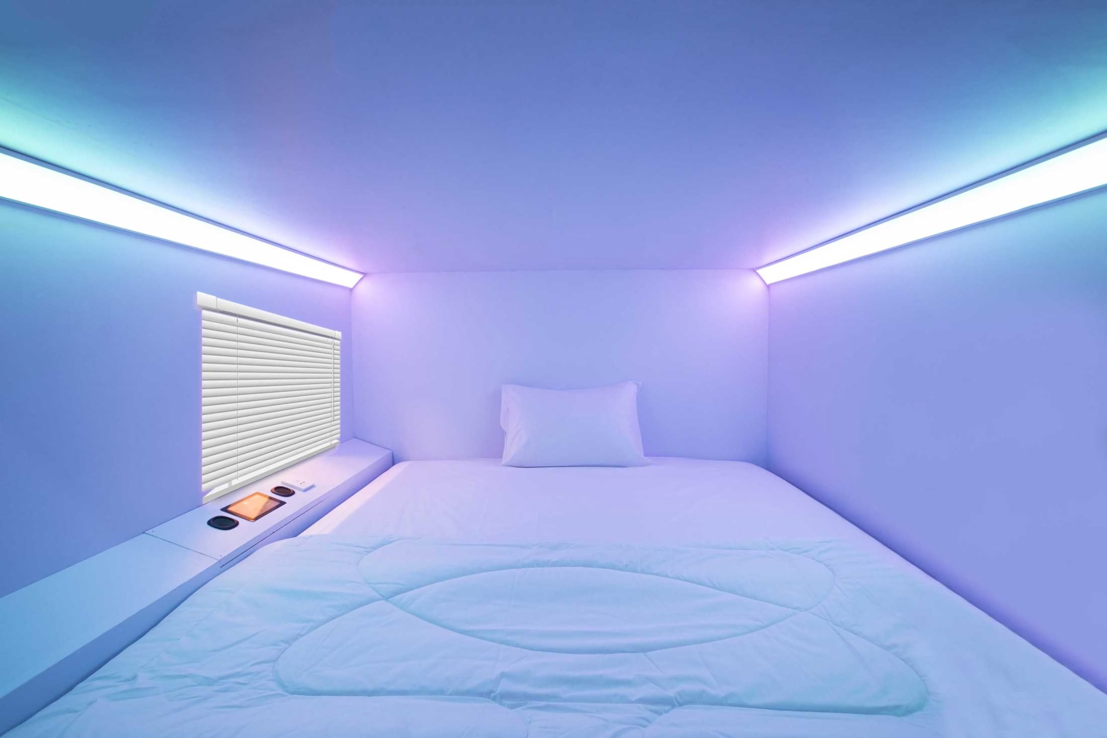Desain hotel dengan gaya dan pengalaman futuristik (Sumber: arsitag.com)