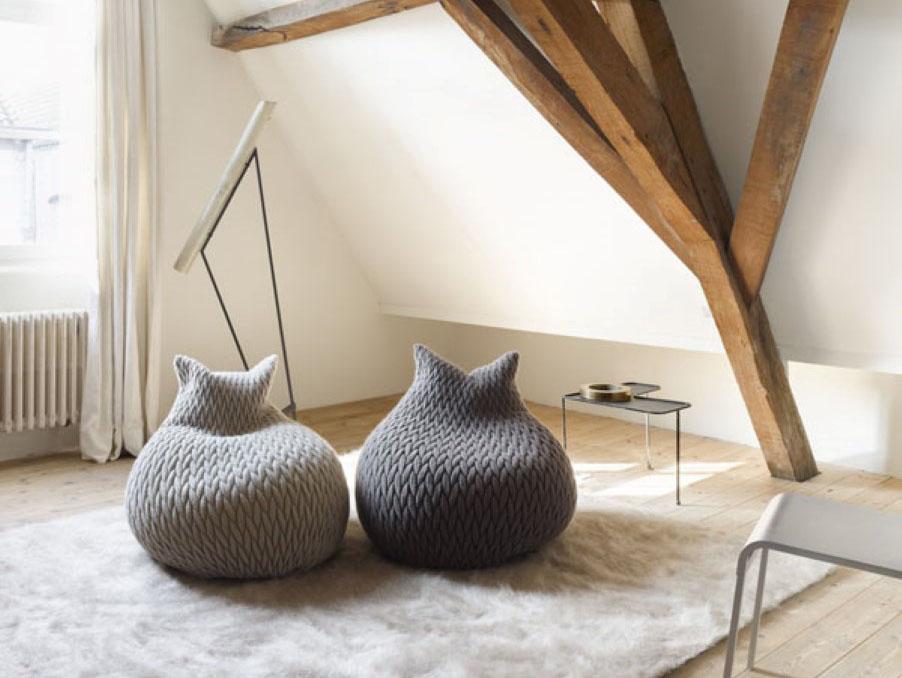 Inspirasi Desain Interior menggunakan Bean Bag yang Super Nyaman | Foto artikel Arsitag