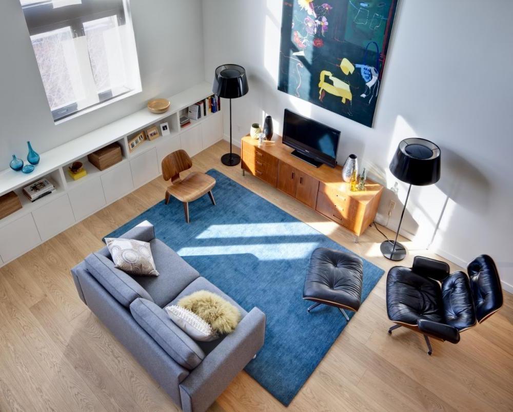 Ruang Santai Bergaya Minimalis