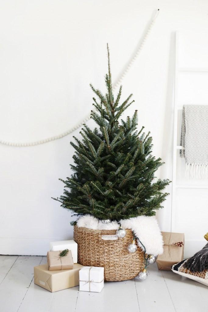 Pohon Natal Minimalis
