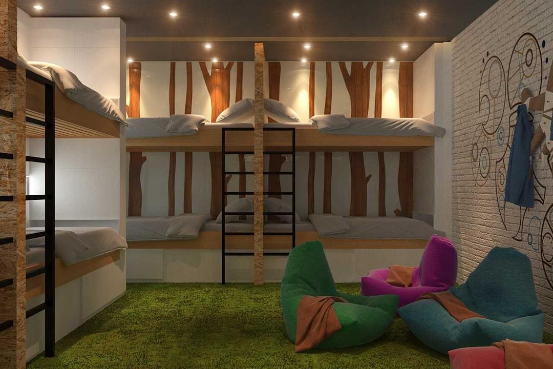 Kamar tidur Bunk Bed