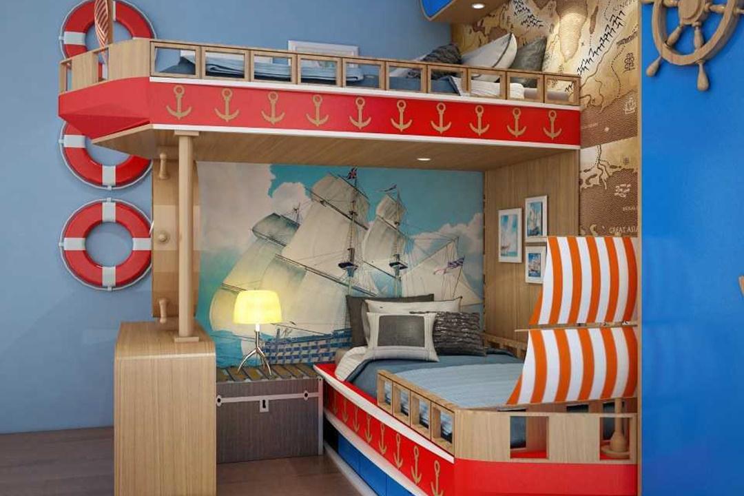 7. Kamar Tidur Bunk BedPrivate Residence 3