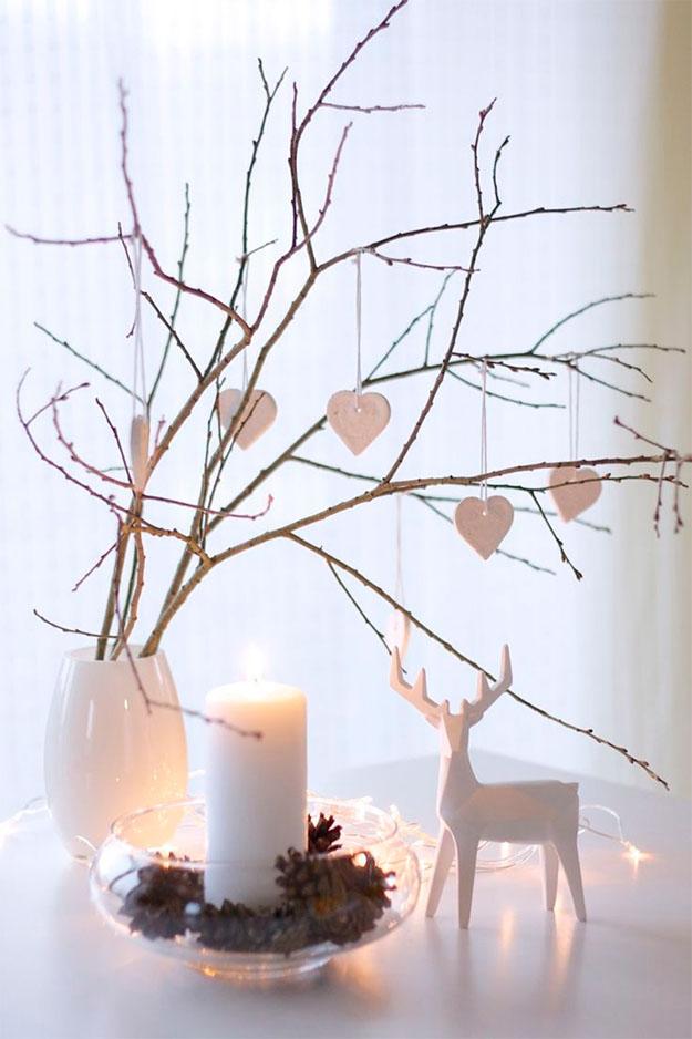 Pohon Natal dari Ranting
