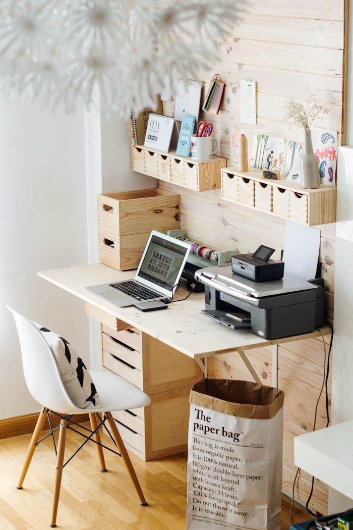 Ide Kreatif Menata Ruang Kerja Mini di Rumah Minimalis Anda | Foto artikel Arsitag