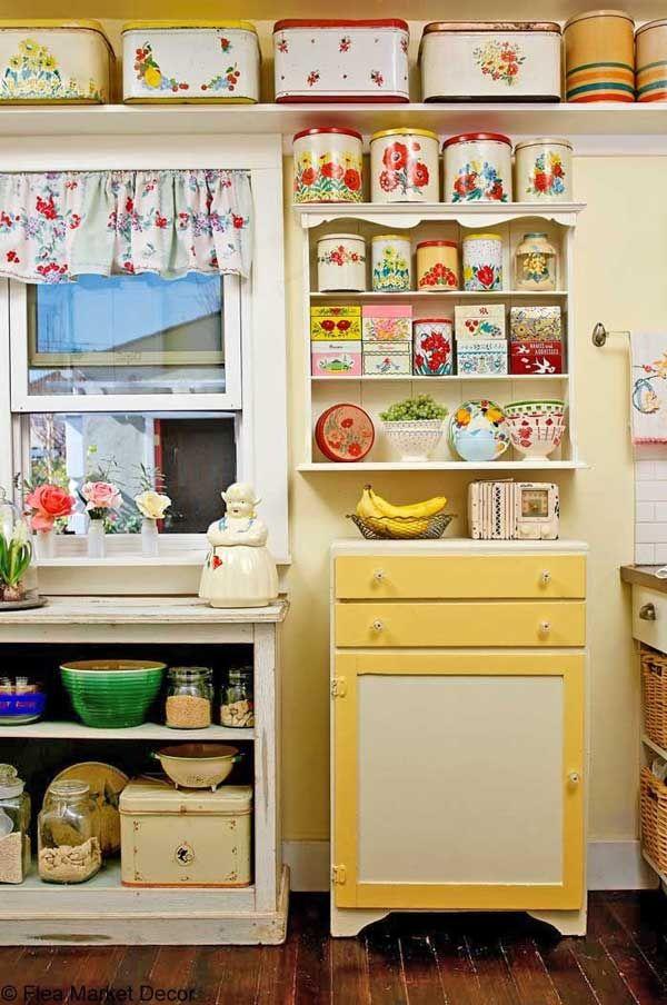 Dapur Vintage Mungil