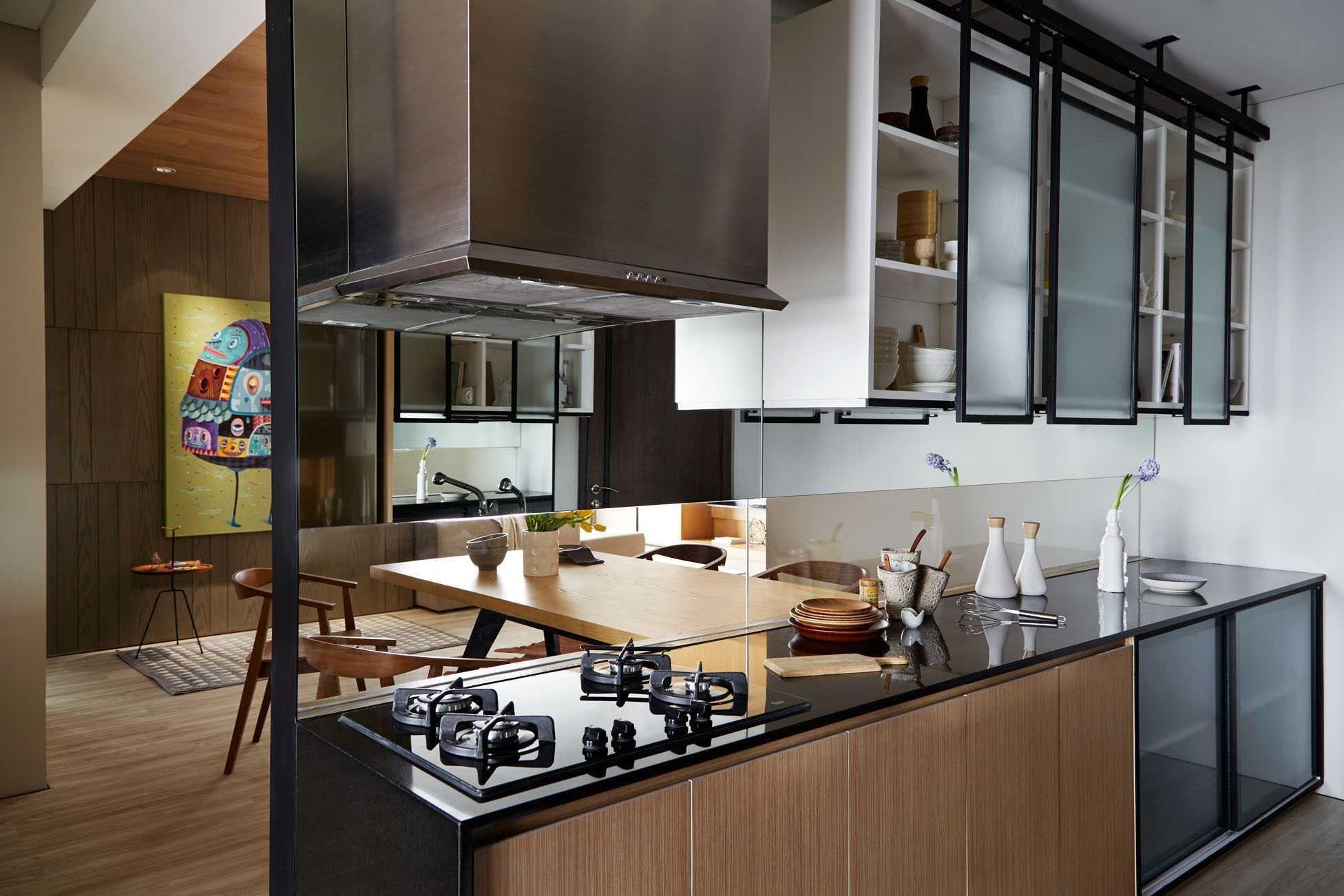 Inspirasi Desain Interior Dapur Kecil Untuk Apartemen Baru Anda | Foto artikel Arsitag