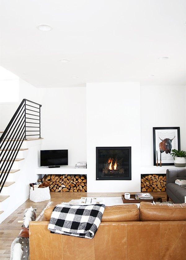 Ruang Keluarga Minimalis Bergaya Modern