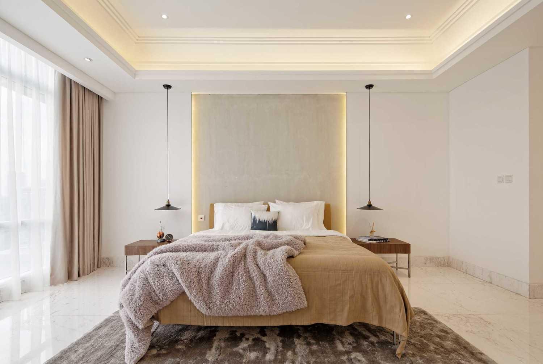 Desain kamar tidur minimalis super simpel dan elegan (Sumber: arsitag.com)