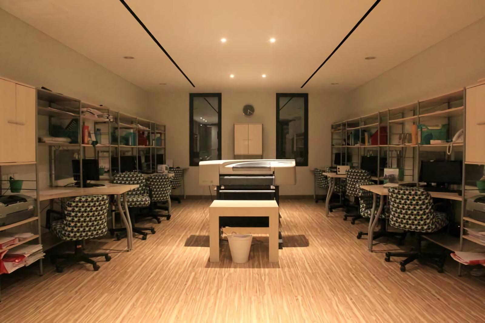 Ruang kerja Sonny Sutanto Architects New Office di Sunter, Jakarta Utara (Sumber: arsitag.com)