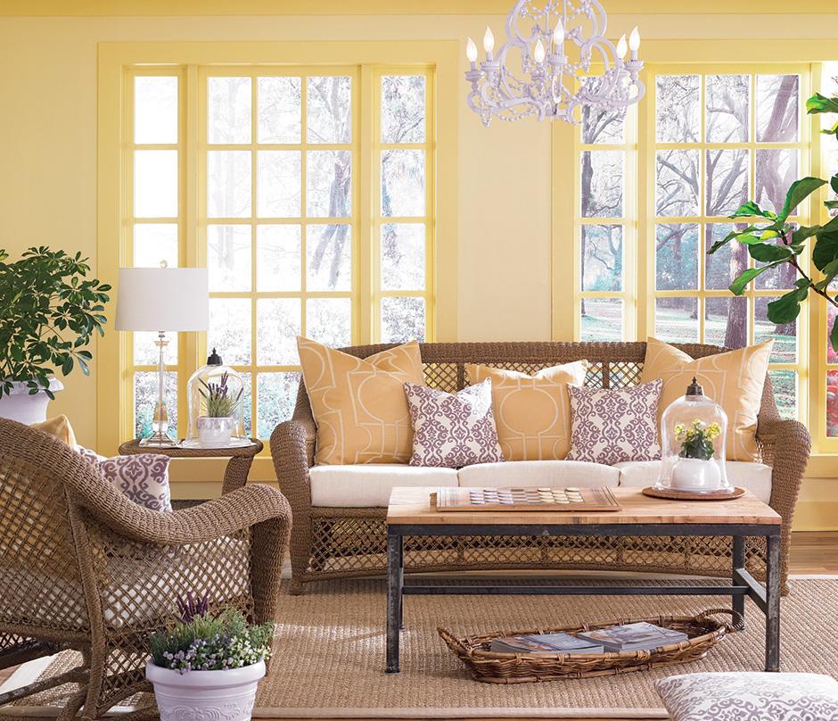 Beberapa focal point dalam satu ruang (Sumber: thepaintstudio.com)