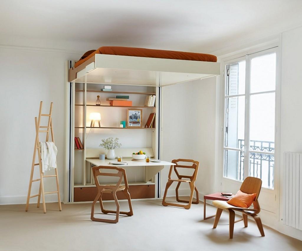 Kamar tidur sekaligus ruang bersantai (Sumber: tritmonk.com)
