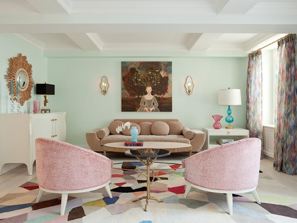 Paduan Hijau dan Pink Karya Fawn Galli