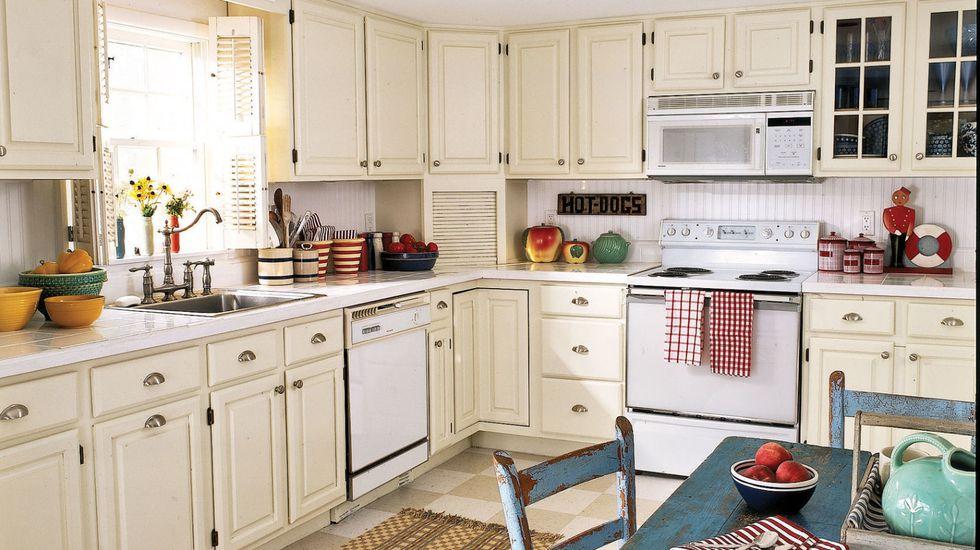 Perbaharui Kabinet untuk Suasana Dapur yang Baru