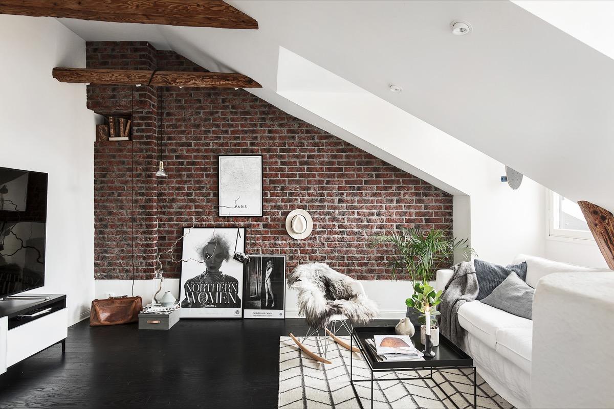 Pesona Vintage nan Stylish Dinding Batu Bata untuk Rumah Minimalis Anda | Foto artikel Arsitag