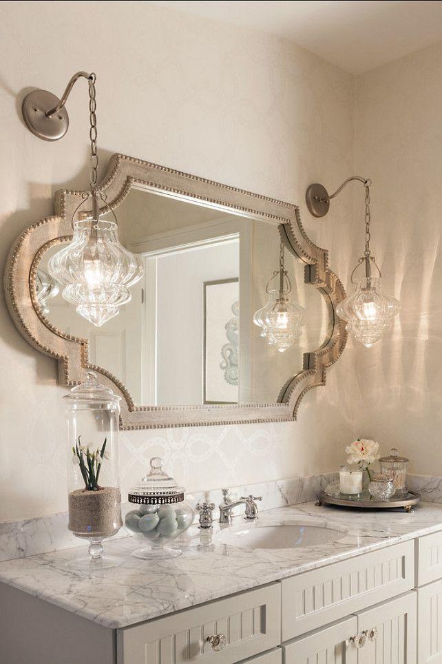 Percantik Kamar Mandi dengan Cermin
