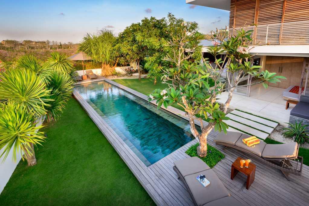 Semangat Eco-Green yang Menciptakan Kenyamanan Keindahan Alam dalam Villa Tropis Minimalis (Sumber: arsitag.com)