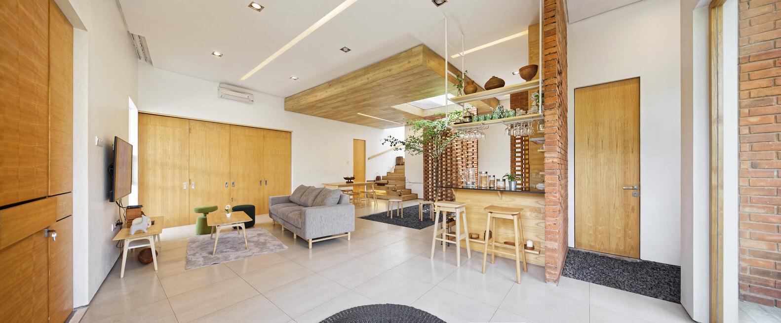 Konsep Ruang Terbuka untuk Rumah yang Lebih Nyaman (Sumber: archdaily.com)