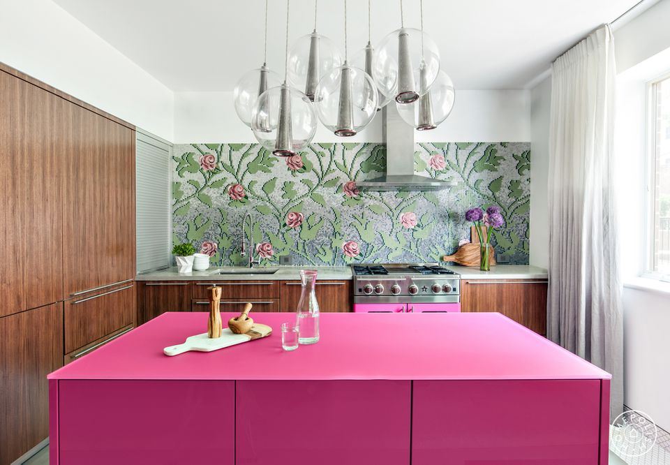 Dapur Pink Modern